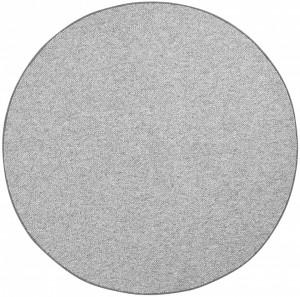 Covor rotund gri Wolly BT Carpet (diverse marimi)