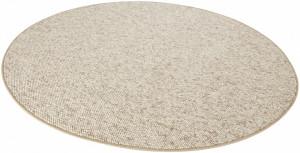 Covor rotund maro deschis Wolly BT Carpet (diverse marimi)