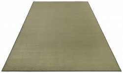 Covor verde din polipropilena Bare Green BT Carpets