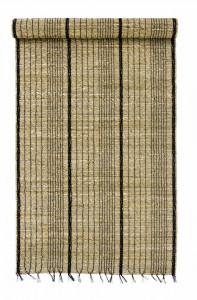 Covoras maro/negru din iarba de mare 50x150 Seagrass Runner Nordal