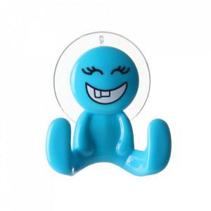 Cuier albastru din polistiren Happy Unimasa