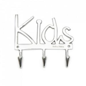 Cuier argintiu din aluminiu Kids Riviera Maison