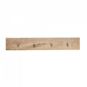 Cuier maro din lemn de stejar Donna Hubsch