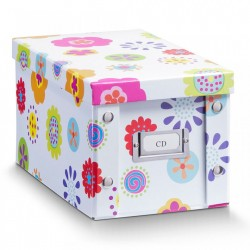 Cutie multicolora cu capac din carton CD Box Kids Zeller