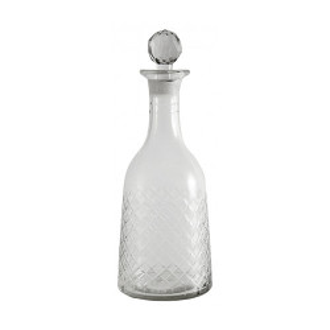 Decantor transparent din sticla 10x24 cm Daria Nordal