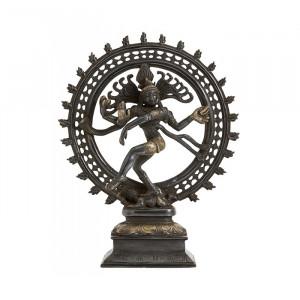 Decoratiune din alama 34 cm Shiva Nordal