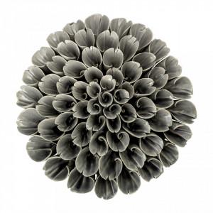 Decoratiune gri din ceramica 6 cm Deco Bloomingville