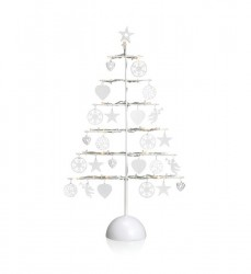 Decoratiune luminoasa LED alba din metal si plastic Borken Tree Markslojd