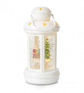 Decoratiune luminoasa LED alba din plastic Cosy Lantern Markslojd
