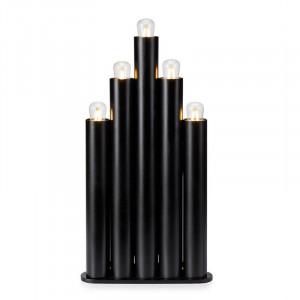 Decoratiune luminoasa neagra din metal Organo Markslojd