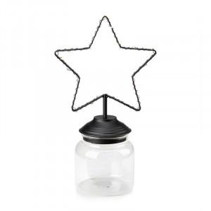 Decoratiune luminoasa neagra/transparenta din metal si sticla Sweetie Markslojd