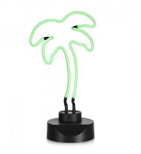Decoratiune luminoasa verde din plastic PalmTexas Markslojd