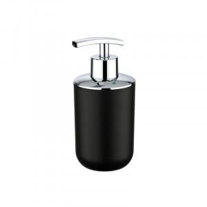 Dispenser negru/argintiu din elastomer termoplastic 320 ml Nabu Wenko