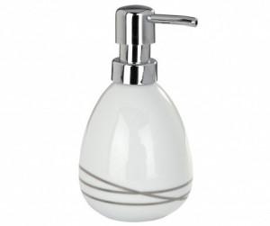 Dispenser sapun lichid alb din ceramica 320 ml Noa Wenko
