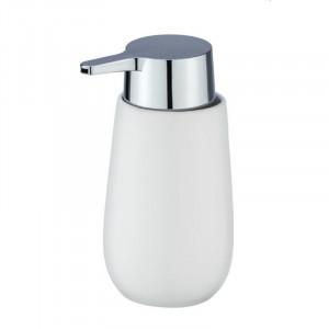 Dispenser sapun lichid alb din ceramica 320 ml Sammi Wenko