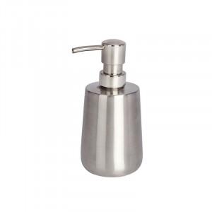 Dispenser sapun lichid argintiu din inox 420 ml Solid Wenko
