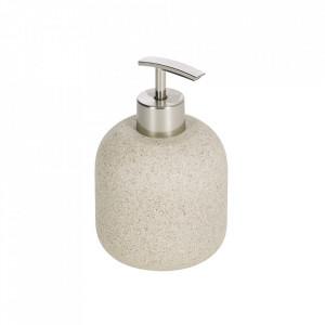Dispenser sapun lichid bej din polipropilena si polirasina 9 cm Najilla Kave Home