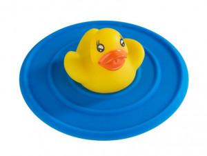 Dop multicolor din silicon si PVC pentru chiuveta Stop Duck Wenko