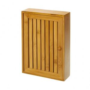 Dulapior maro pentru chei din lemn de bambus Marcie Unimasa
