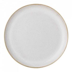 Farfurie crem din ceramica 25 cm Carrie Bloomingville