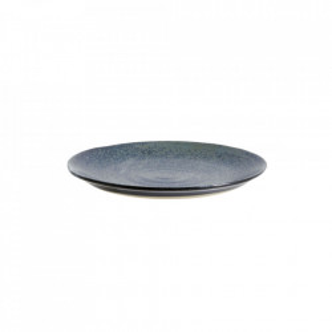 Farfurioara albastra din ceramica 14,5 cm Grainy Cake Nordal