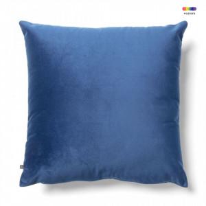 Fata de perna albastra din catifea 45x45 cm Jolie La Forma