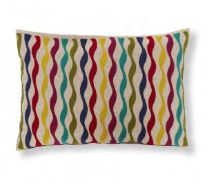 Fata de perna multicolora din textil 30x50 cm Start La Forma