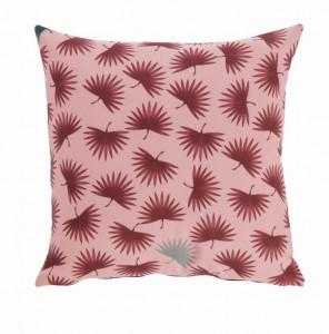 Fata de perna roz din textil impermeabil 45x45 cm Berharnu La Forma