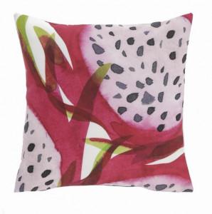 Fata de perna roz din textil impermeabil 45x45 cm Dikeledi La Forma