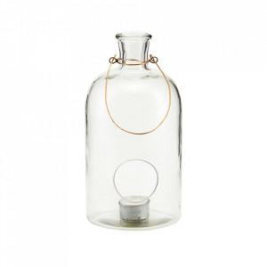 Felinar transparent din sticla 25 cm Frej House Doctor