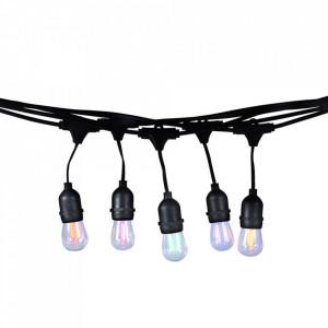 Ghirlanda luminoasa exterior multicolora cu 10 becuri Lok Milagro Lighting