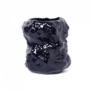 Ghiveci albastru din ceramica 34 cm Tuck Ferm Living