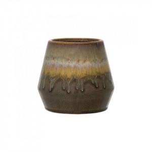 Ghiveci maro din ceramica 15 cm Flow Bloomingville