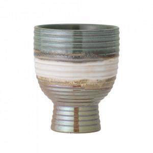 Ghiveci multicolor din ceramica 14 cm Wave Bloomingville
