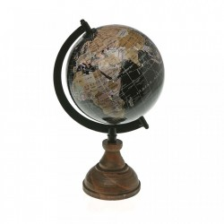 Glob pamantesc multicolor din metal 26 cm World Map Versa Home