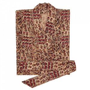 Kimono roz din bumbac Arnum Madam Stoltz