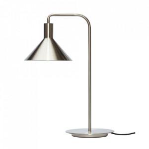 Lampa birou argintie din fier 50 cm Yves Hubsch