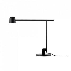 Lampa birou dimabila neagra din metal cu LED 40 cm Satellite Frandsen Lighting