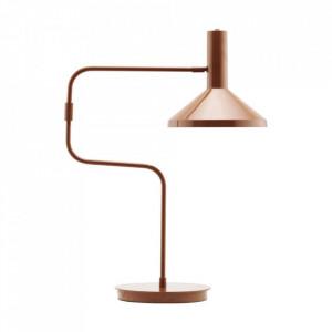 Lampa birou maro din fier si alama 66 m Seoka Monograph