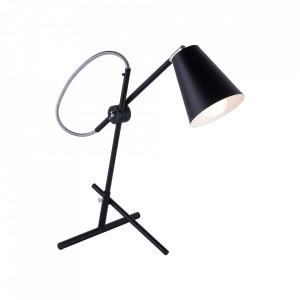 Lampa birou neagra din metal 55 cm Arte Aldex