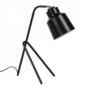 Lampa birou negru din metal 59 cm Vernisa Somcasa