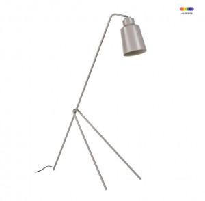 Lampadar gri din metal 158 cm Montgo Grey Somcasa
