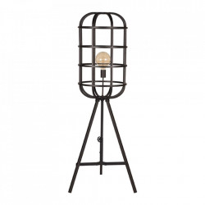 Lampadar negru din metal 145 cm Twine LABEL51