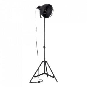 Lampadar negru din metal 166,5 cm Jesper Brilliant