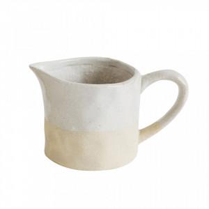 Latiera alba din ceramica 220 ml Iris Bloomingville