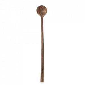Lingura maro din lemn de salcam Gia Bloomingville