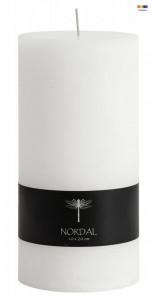 Lumanare alba din parafina 20 cm White Candle High Nordal