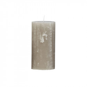 Lumanare gri piatra din parafina 25 cm Rustic Avi Cozy Living Copenhagen