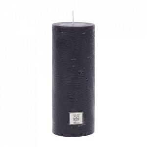Lumanare neagra din parafina 18 cm Rustic Riviera Maison