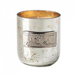 Lumanare parfumata cu suport argintiu/auriu din sticla 9 cm Ibiza Riviera Maison